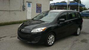 2013 Mazda Mazda5 GS, 50143 KILO,  6 PASSAGERS GAR 36 MOIS INCLU