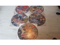 Drum and Bass picture discs x 6 vinyl records