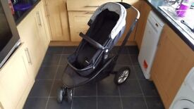 Mothercare Xpedior 3-Wheel Pushchair