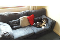 Free: worn but comfy 2 seat sofa