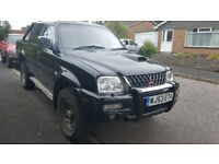 53 plate black L200 truck with 12 months mot £2500.00 if interested please pm