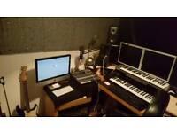 Studio Hire with engineer & Music videos