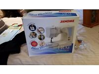 Like new mini janome mini sewing machine
