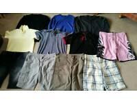 Mens clothes size M & 32-36
