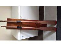 Decorative rowing oars rowing oars