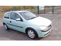 2001 Vauxhall Corsa Comfort 1.2 Petrol Sunroof Immaculate Condition...
