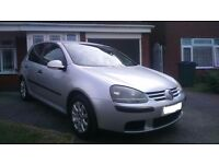 VW GOLF 1.9 TDI SE SILVER 2004 5 Door HATCH BACK Diesel