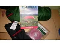 HILLEBERG UNNA + FOOTPRINT ❄⛺🗻 MOUNTAIN TENT EQUIPMENT RAB MSR ALPKIT