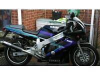 Fzr 600 for sale or SWAP for XT350 or DTR125