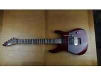 LTD red 6 string humbuker guitar with trem stopper and Shaller,Floyd Rose bridge