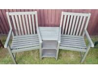 Wooden Companion Seat