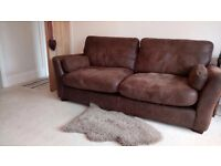 Beautiful soft leather sofas