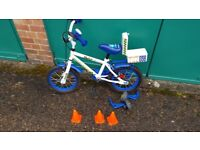 """Apollo Police Kids' Bike - 14"""" in very good condition for sale"""
