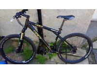 gt aggressor mountain bike. REDUCED NOW £280.