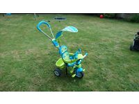 Smoby baby driver comfort blue 3 in 1 trike