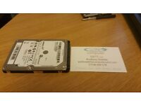 "500GB 2.5"" Seagate Spinpoint M8 Hard drive (Used and formatted)"