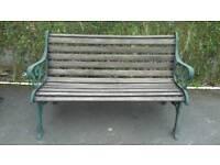 3 piece cast iron garden seating set