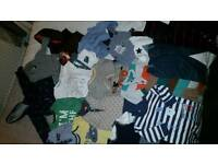3-6 MONTH BABY BOY BUNDLE 19 PIECE TED BAKER M&S