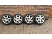 MK6 Fiesta Alloys - With Tyres