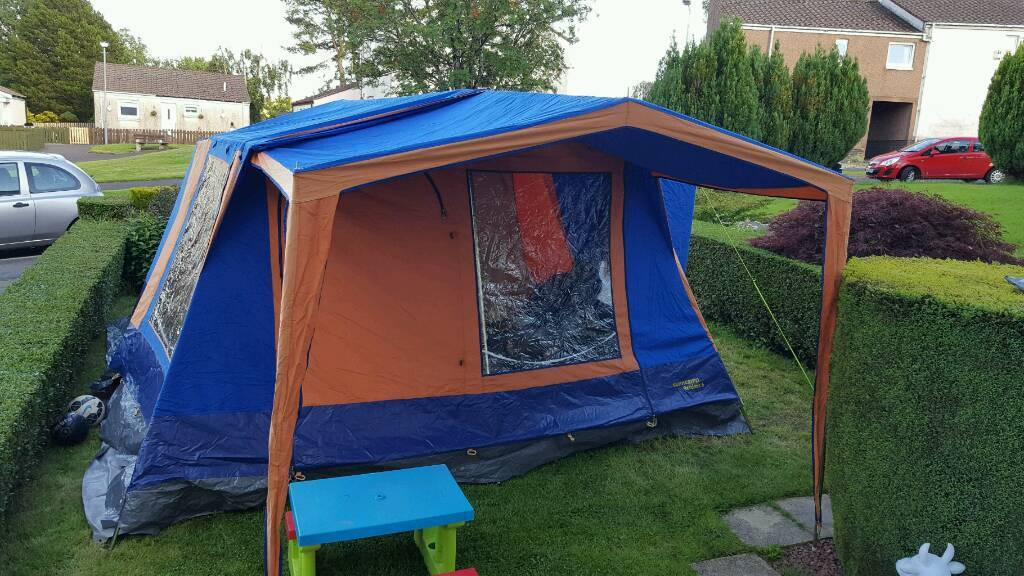 Sunncamp residence 6 Canvas Frame Tent in excellent condition | in ...