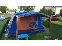 Sunncamp residence 6 Canvas Frame Tent in excellent condition
