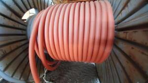 New 350 MCM Copper TECH Cable 3 Conductor with Ground, Approx. 100 Meters Left on Spool, 5 KV Rated
