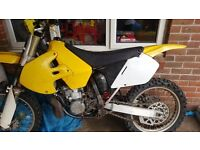 Suzuki rm 250 2001 not cr kx ktm pit bike quad