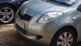 Toyota yaris Reliable car, cheap on insurance & tax
