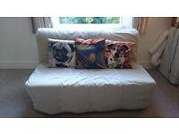 Ikea Lycksele Sofa Bed with LOVAS Mattress