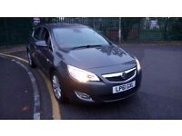 2012 VAUXHALL ASTRA 1.6 AUTO AUTOMATIC (not FIESTA, FOCUS, GOLF, MICRA, POLO, CLIO, YARIS, AURIS, A3