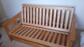 Double Futon and Storage 150cm wide