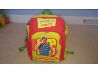 Mr Tumble small backpack, perfect for Nursery