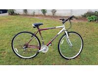 Mens Universal 18 Speed Hybrid Bike