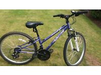 """girls apollo 24"""" bike, like new, in great condition"""