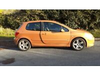 Peugeot, 307, Hatchback, 2005, Manual, 1997 (cc), 3 doors