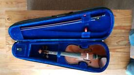 Stentor 3/4 violin case and bow