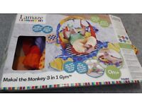 Used LAMAZE MAKAI THE MONKEY 3-IN-1 GYM