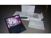 Surface pro 4 i7 256gb 8 gb ram mint condition.