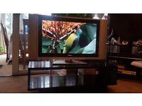 ARGOS HOME WOODEN BLACK TV UNIT