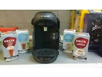 Tassimo coffee machine with pods