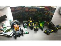 Lego DC and Marvel sets