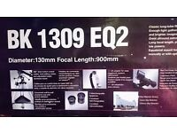 Telescope Skyscanner 1309 EQ2 - Great condition, only opened once, still in original packaging.