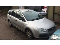 2005 Ford Focus LX TDCI 90 Estate 1.6L Diesel Silver BREAKING FOR SPARES
