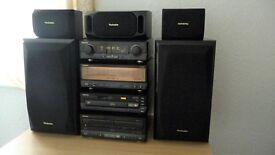 Technics Hi-Fi Stack System , Separates Vintage Rare.