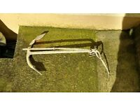 Anchor - 3Kg Small boat, Fishermans style - Ideal for rock or weedy sea beds