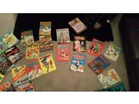 Old dandy and beano books