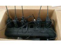 vertex standard 6 amt radios walkie/talkies