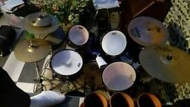 Pearl export Drum kit + lots of extra symbols