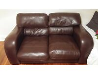Comfy brown sofa for free. 'Buyer' must collect before Friday 6th April.