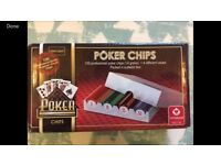 Professional Poker Chips - New and Unopened